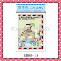 Free Shipping Cute passport holders 100pcs/lot passport covers Card holders