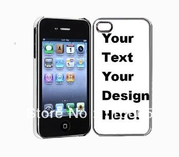 Custom design deluxe case for iphone 4 4s,Chrome aluminum metallic cover luxury cover for apple iphone 100pcs mix 5 desings DHL
