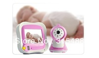 """Free Shipping 3.5"""" Color LCD Wireless Baby Monitor Video Camera Night vision"""