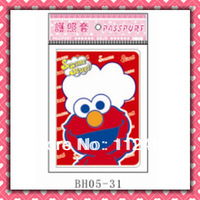 Free Shipping Sesame street passport holders 100pcs/lot passport covers Card holders