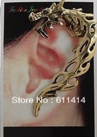 EC042,wholesale fashion Exaggerated personality clip earrings ,antique bronze/retro silvery can choose