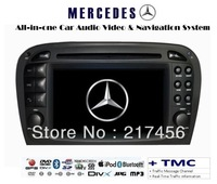 Mercedes Benz SL R230 SL350 SL500 SL550 Indash GPS DVD Radio MP3 HD Screen ( TMC ) Navigation System