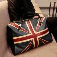 Wholesale - Fashion Britain Flag shoulder bag women large capacity handbag vintage bag messenger bag  tote bag
