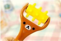 Rilakkuma relaxed bear mini massage stick massage device roller face-lift the legs 10pcs/lot free postage register mail