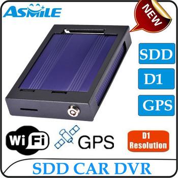 2013 NEW item H.264 SSD Car DVR 4CH Manual car camera HD DVR Importing from Asmile EMS DHL free shipping 2pcs/lot