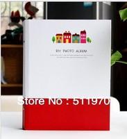Free shipping Fashion Korea 4 styles Diy photo album personalized gift baby handmade self-restraint gift photo album book