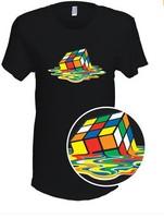 Melting Rubik's Cube T-Shirt -As seen on The Big Bang Theory!