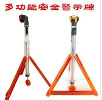 Latest product safety warning signs warning/tripod/safety warning lights/triangle frame/flashing lights