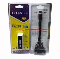 Cba universal mobile power 2600mah mp3 mp4 ultra long