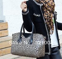 2013  Lady Leopard shoulder handbag messenger bag  tote bag By Sonny Store