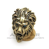 Lion head Lion King rings jewelry personality the domineering Lion King lion head ring unisex