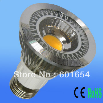 DHL Free Shipping 20pcs/lot, E27 E26 GU10 COB light Par20 LED Lamp Bulb 5W Warm/Cool White Replace 50W Halogen(China (Mainland))