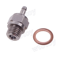 HSP RC Car Truck Buggy Nitro 4C Engine Medium HOT glow Plug #4 No.4 starter 19258(China (Mainland))