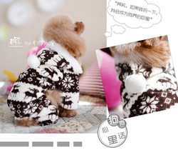 Free shipping Pet dog spring autumn winter hooded coat Clothes fleece hoodie cat sweater 5 sizes S/M/L/XL/XXL(China (Mainland))
