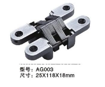 Zinc Alloy Conceal hinge AG-003 SIZE 25*118mm