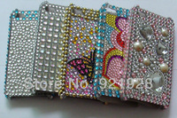 NEW Top Quality Fashion Bling Crystal Style Hard Plastic Case Cover Skin for iphone 4 4G 4S Free Shipping