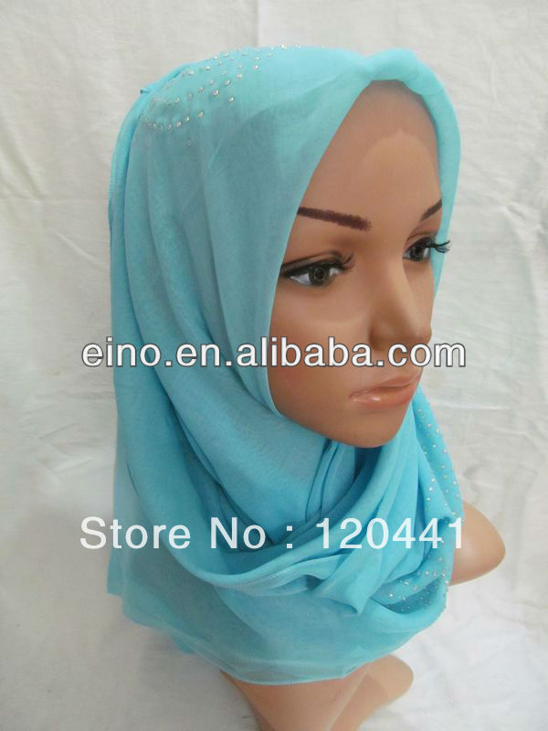 tf058,wholesale free shipping newest style bandanas islamic hijab for muslim lady,assorted colors(China (Mainland))