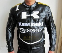 KAWASAKI automobile race clothing automobile race kawasaki motorcycle clothing motorcycle clothing leather automobile race