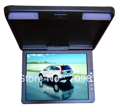 13.3 inch TFT LCD roof mount monitor+Two video frequencies input+Pixel :800 *RGB*600+Bright degree :250 : 1+Work voltage DC12V(China (Mainland))