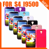 Soft TPU Gel Case Cover for Samsung Galaxy S4 i9500 7 Colors  Wholesale 20pcs/lot Free shipping