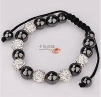 valentines gifts free shipping, New Tresor Paris Shamballa Bracelets Micro Pave CZ Disco Ball Bead shamballa stone HT4458