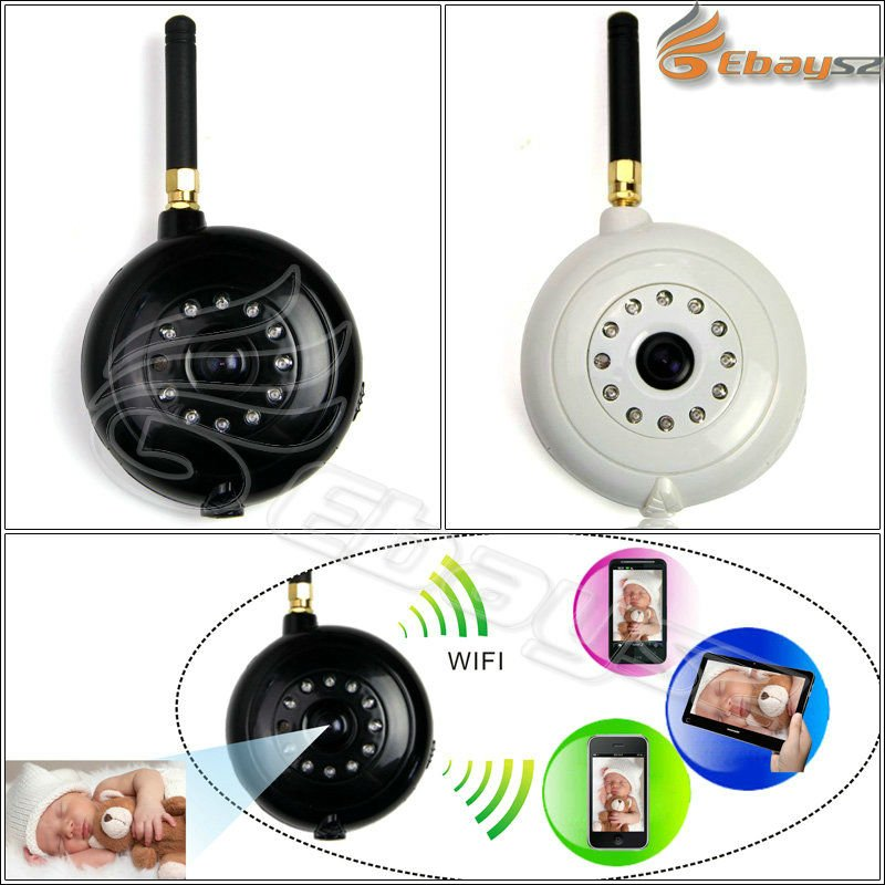 New Design Wificam/Wifi Wireless Baby Monitor/Wifi Camera For iPhone,Android System LF-1684 WQ(China (Mainland))