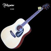Takamine 2010 d340 folk guitar d-340