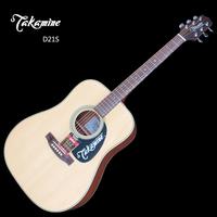 Takamine d21s monoboard folk guitar 41 standard wood guitar