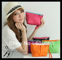 2013Wholesale&retail,Free shipping,Cosmetic / coin purse /key wallet debris /mobile phone handbag