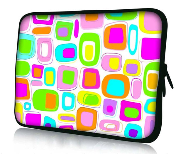 "10"" Polka Dot Soft Neoprene Sleeve Case Bag Cover Pouch For 9.7""-10.2"" HP Dell Acer Samsung ASUS Netbook Laptop Tablet PC(China (Mainland))"