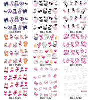 lover Nail art water transfer decal/stickers/print/accessories *wholsale*drop shipping * ble serires