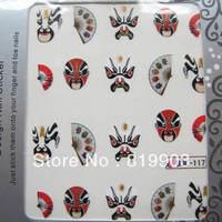 peking opera*Nail art water transfer decal/stickers/print/accessories *wholsale*drop shipping *   bjc series