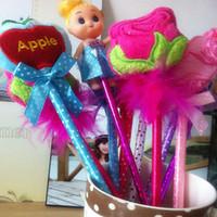 Gift prize plush toy wedding gift cartoon ballpoint pen