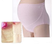 Cotton pregnant women underwear / Prop belly pants