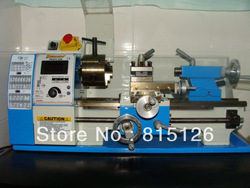 Free shipping Lathe lathe WM180V household power 600 w motor small lathe(China (Mainland))