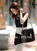 2013 new simulation cortical sense of fashion portable shoulder chain bag retro handbags diagonal package Shuitong