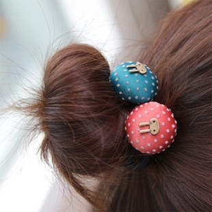 1828 accessories vintage rabbit dot headband hair rope tousheng hair accessory dot headband hair accessory