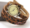 New Arrival 2013 Hot Sale Leather Watche shorsehide watch Genuine Long strap watches Roman numerals show free shipping