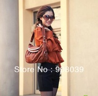 on sale  2013  new women's spring handbag genuine cowhide leather  fashion messenger bag 4color