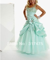 Girl Kids Pageant Dress Bridesmaid Dance Party Princess Ball Gown Formal Dresses size 12