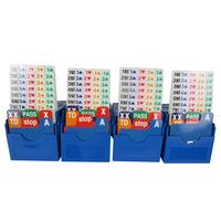 The professional bridge bidding card Vertical bid box card bridge supplies