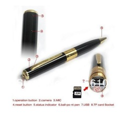 New Special Pen Camera 1280*960 PEN Video Recorder pen DVR Camcorder(Hong Kong)