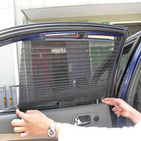 Free shipping the car automatically retractable curtains sunscreen sun block automatic blinds, car window shade