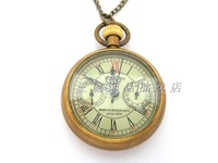 2014 Accessorize watch stem-winder Vintage copper five-pin scale mechanical watch rahb817 Free shipping