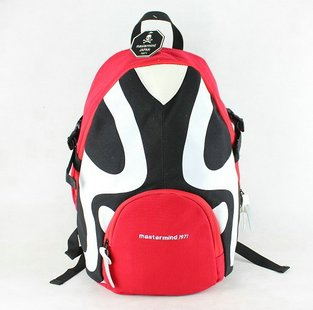 Free shipping 2013 Tide brand China Wind Face backpack cartoon shoulders bag 2013 new wave of people bags