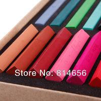 hair chalk 24 color dye free shipping