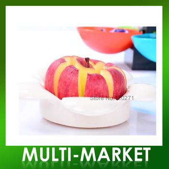 Free shipping/Beaty Flower Apple Cutter Multi Function Apple Fruit Vegetable Peeler and Cutter Slicer
