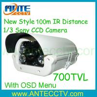 "Surveillance 1/3"" SONY 700TVL LED Arrays indoor/Outdoor IR CCTV Camera with OSD Control"