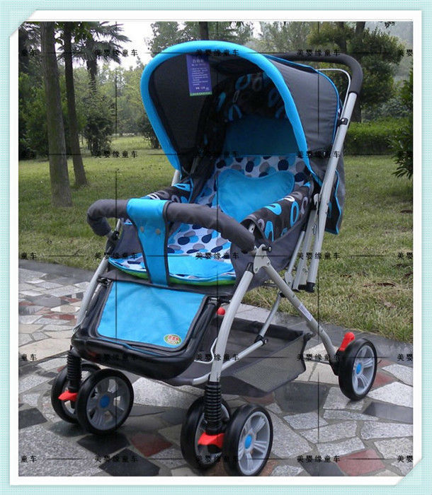 Full Cover Buggies Prams Baby Stroller With 3 Adjustable Seat Position and Mosquito Net,Dinner Plate+Foldable+Free Shipping(China (Mainland))