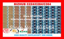 Free shipping!Compatible Konica Minolta Bizhub C224 C284 C364 imaging unit drum chip,K/C/M/Y,20PCS/LOT! High quality!(China (Mainland))